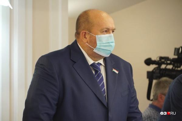 Алексей Дегтев возглавлял городской парламент в составе думы предыдущего созыва