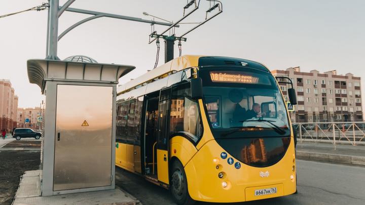 В Самаре электробус с 14 мая прекратит перевозку пассажиров