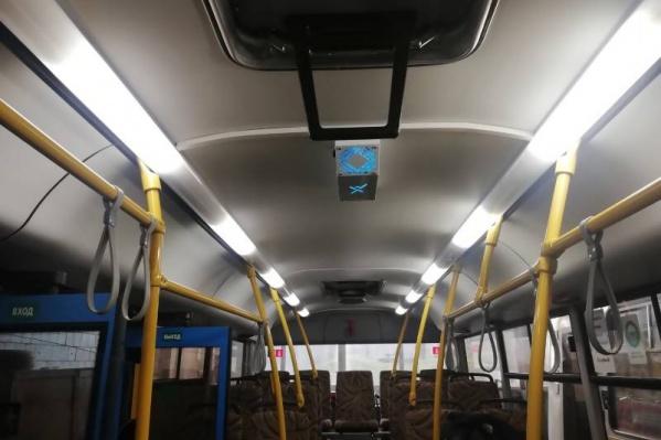 Видели уже такой прибор в автобусах 44-го маршрута?