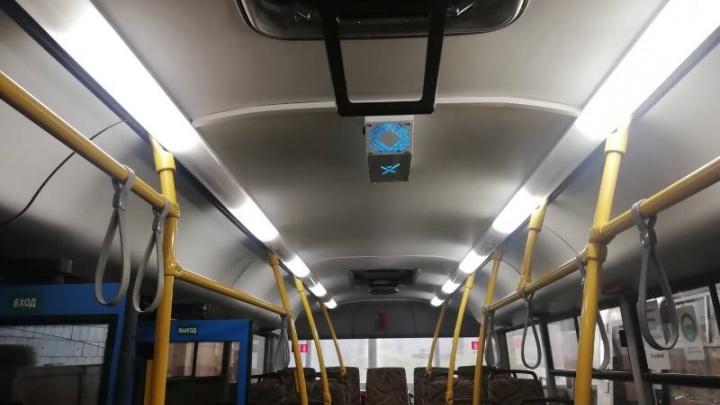 Автобусы 44-го маршрута в Архангельске оборудуют рециркуляторами воздуха