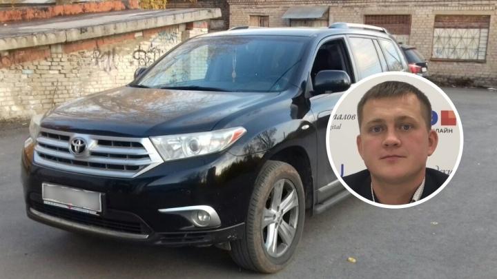 Пермяк ищет очевидцев нападения на свою семью. Незнакомец бил по его машине битой и распылил газ в салон