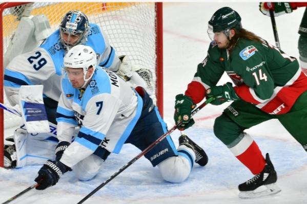 «Ак Барс» прервал серию побед «Сибири»
