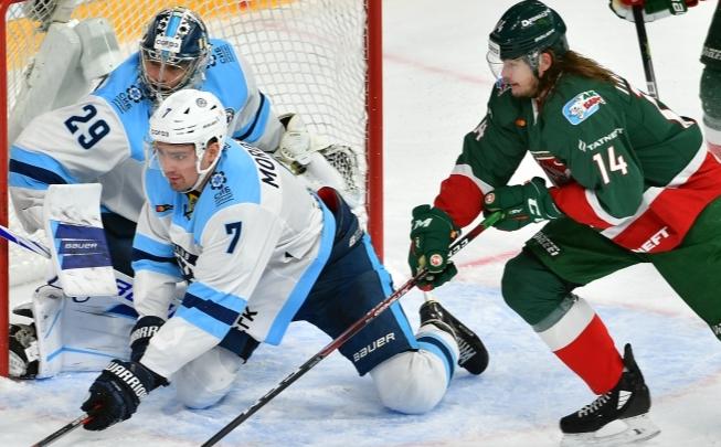 Досадное поражение: ХК «Сибирь» проиграл казанскому «Ак Барсу»