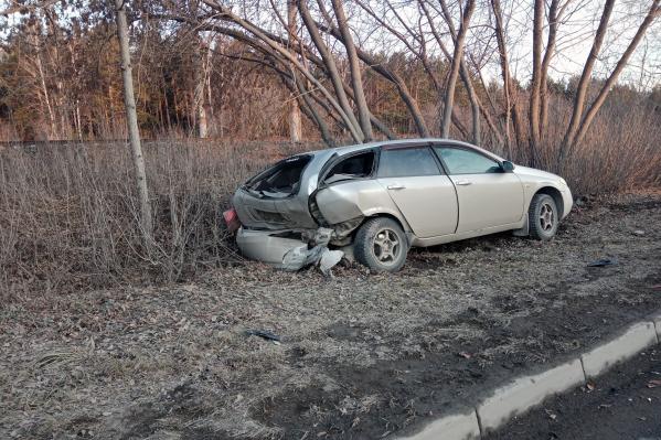 Авария произошла в Первомайском районе, напротив магазина «Громада»