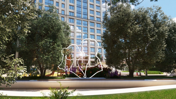 Холл как в отеле и своя аллея: рассказываем про новый дом, в котором будут жить самые романтичные новосибирцы