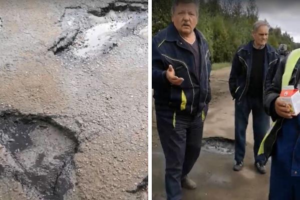 Жителя Варегово возмутил ремонт дороги к его поселку