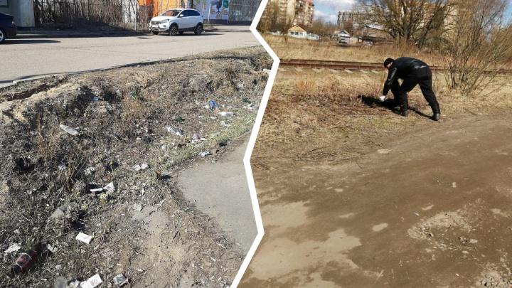 Субботников не будет: уберут ли мусор с улиц Ярославля этой весной? Ответ мэрии