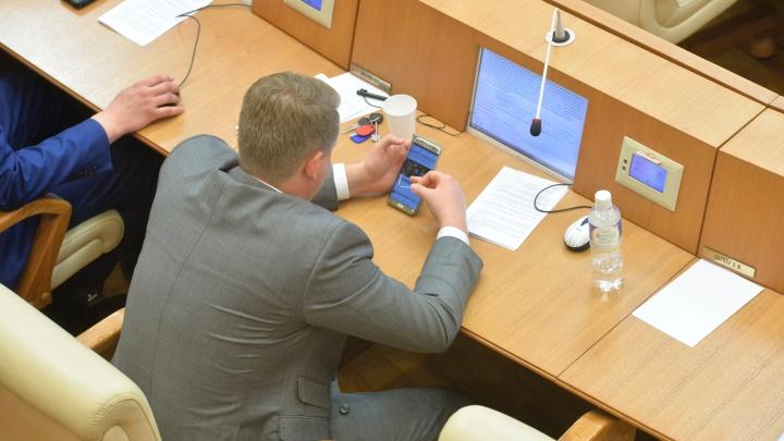 Депутаты отклонили народную инициативу о прямых выборах мэра в Екатеринбурге