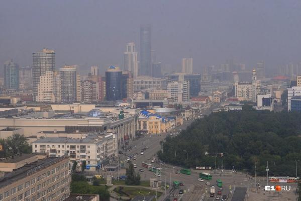 В воздухе превышено содержание оксида и диоксида азота, диоксида серы и мелкой пыли