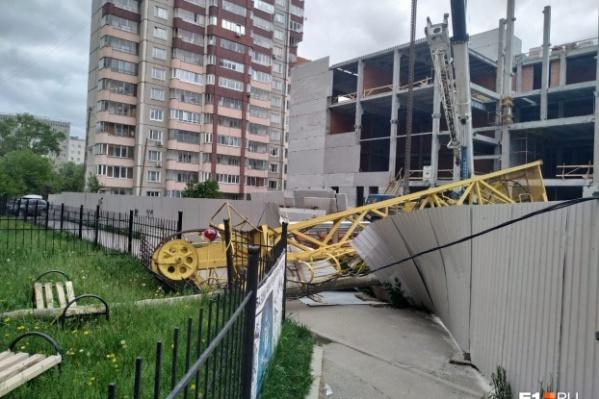 В городе сегодня бушует ураган