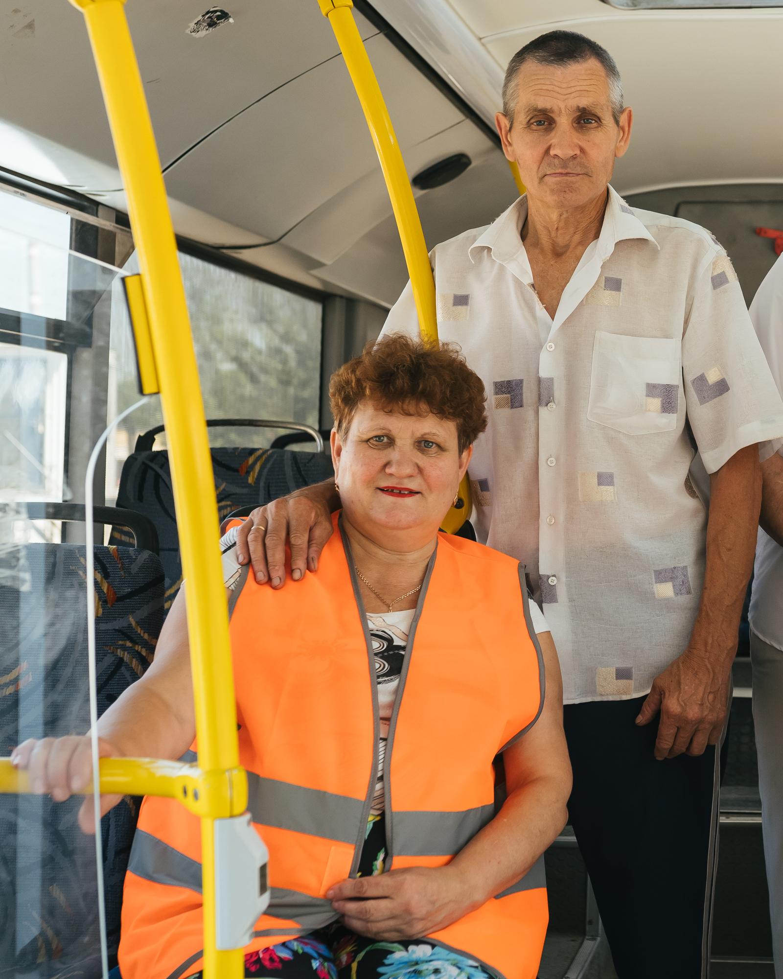 Труд Галины оценили званием «Лучший кондуктор», а Раиф стал Почетным работником общественного транспорта