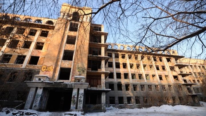 Договор о восстановлении заброшенной больницы в Зеленой Роще заключат до конца года