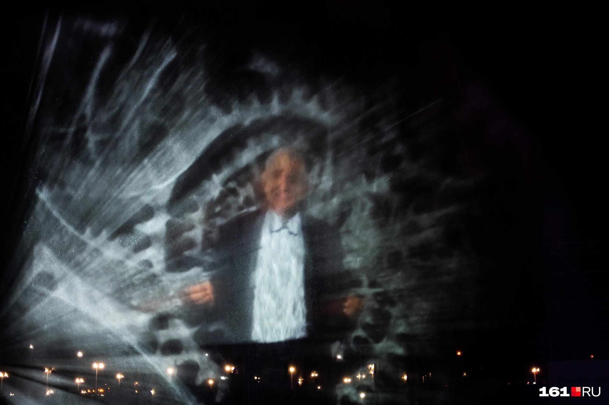 У фонтана есть водный 3D-экран