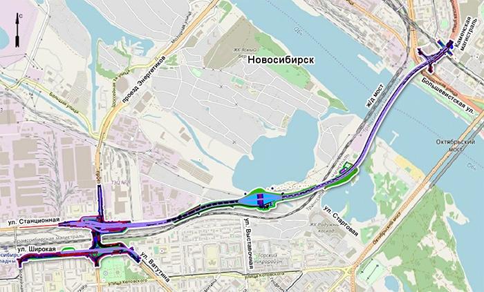 Тоннель построят над путепроводом, который соединяет площадь Энергетиков и площадь Труда