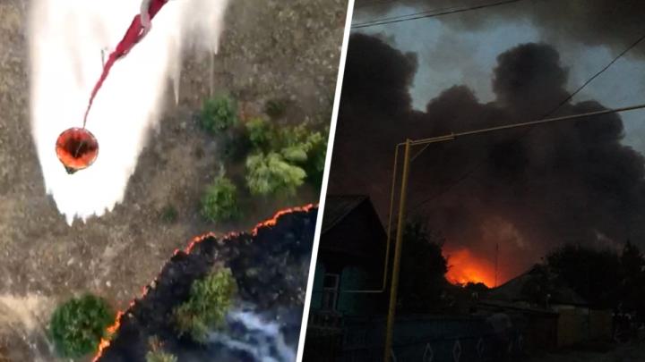 Огонь выжигает Ростовскую область: жертва пожара и сотни сгоревших гектаров — главное