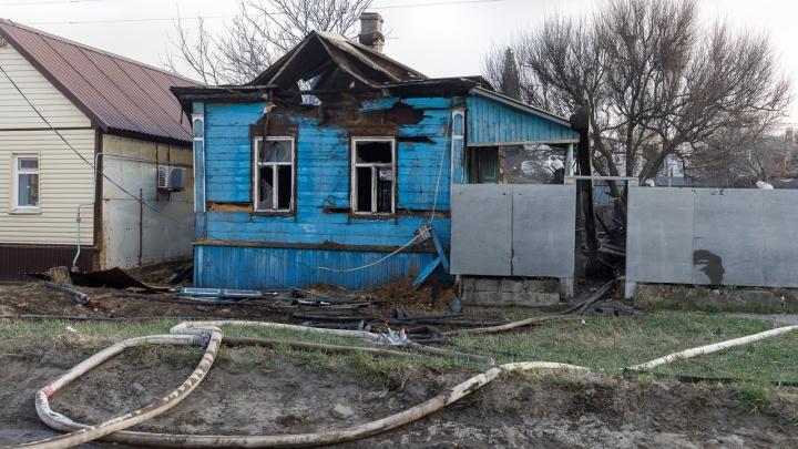 Полиция нашла поджигателей пяти домов в поселке Верхнезареченском Волгограда