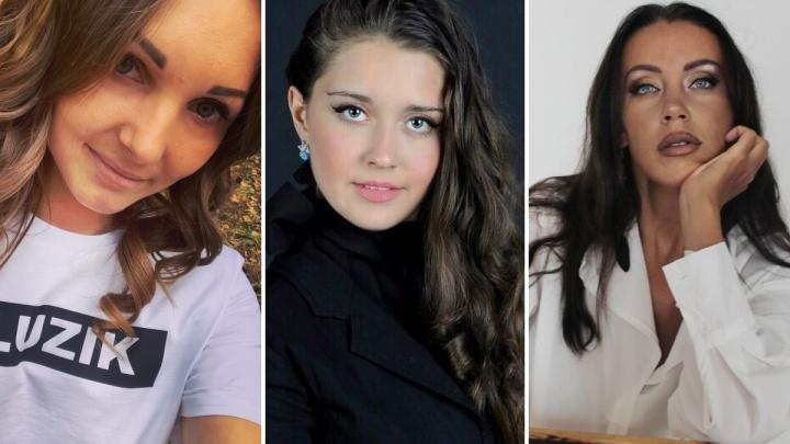 Три красноярские девушки претендуют на титул «Самое красивое лицо России»