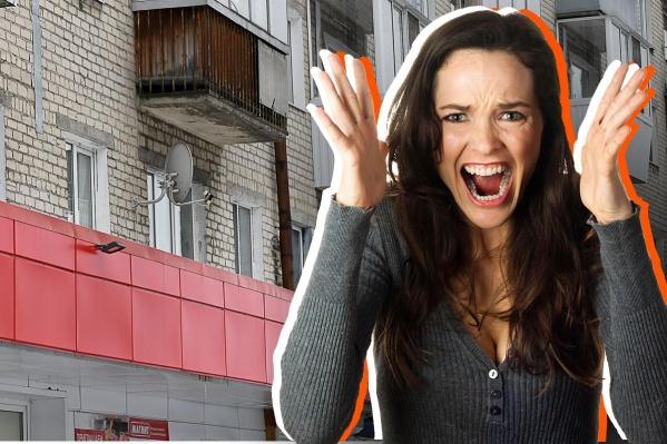 В центральной части города магазины на первых этажах есть чуть ли не в каждом доме на оживленной улице