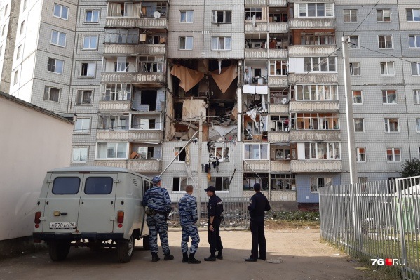 Взрыв произошел 21 августа около 19:20