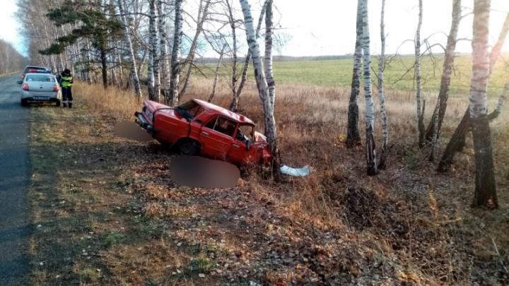Молодой водитель погубил трех пассажиров, врезавшись в дерево