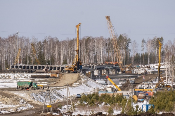 Строительство ЕКАД полностью завершится к 2024 году, а при дополнительном финансировании это может произойти и раньше
