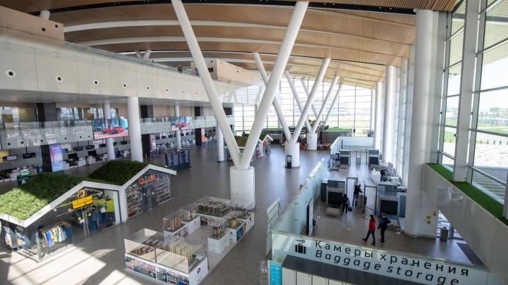 Аэропорт Платов снова эвакуировали из-за сообщения о бомбе