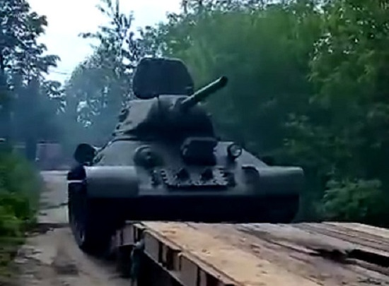 В Кемерово в параде Победы будет участвовать танк 1942 года. Его нашли в болоте