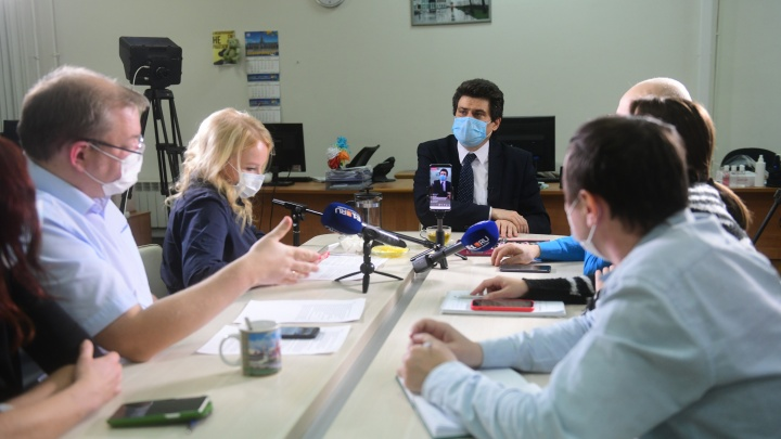 Александр Высокинский прокомментировал слухи о своей отставке. Прямой эфир E1.RU