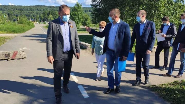 Илья Середюк рассказал, как изменится подъезд к Красному озеру в Кемерово