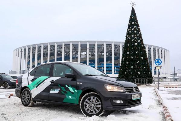 Жители Нижнего Новгорода могут увидеть на дорогах экологичные машины, которые ездят на метане