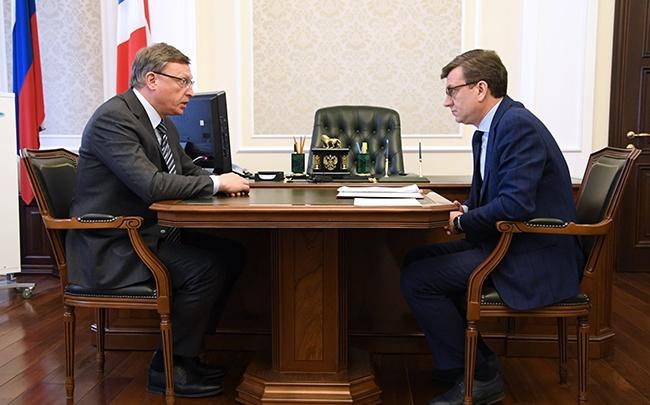 Мураховский отчитался перед губернатором о работе за первую неделю: коротко о том, что он сказал