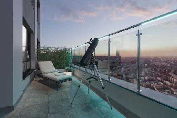 Квартира с террасой — редкость для Екатеринбурга