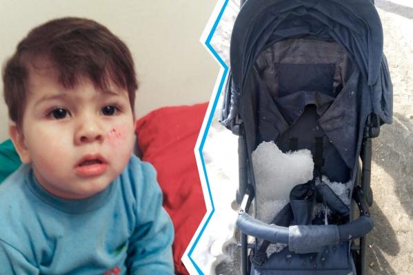Травмированному ребёнку 1 год 10 месяцев