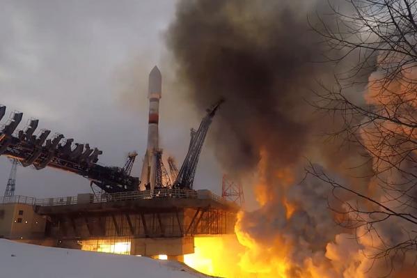 Это первый запуск«Союз-2» в этом году