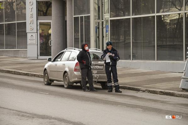 В Екатеринбурге пока не наказывают тех, кто нарушает режим самоизоляции
