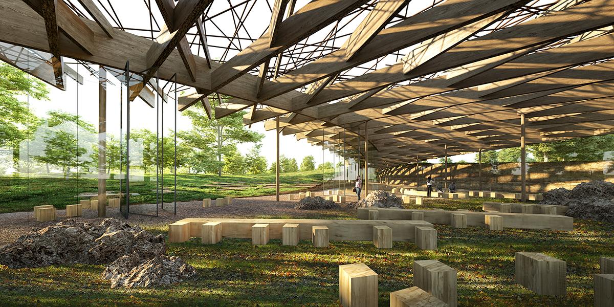 Kengo Kuma and Associates (Франция) и Vladimir Djurovic Landscape Architecture (Ливан), а также BuroHappold Central Europe<br>