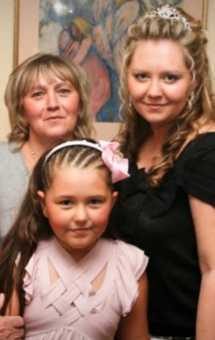 Валентина с дочкой Аленой и внучкой
