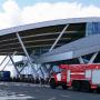 Аэропорт Платов снова эвакуировали. На месте пожарные