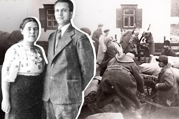 ЕвлампияИвановна поехала за своим возлюбленным, когда его семью раскулачили