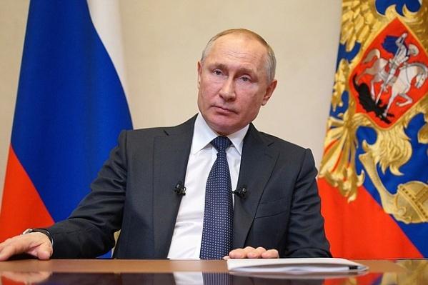 Владимир Путин объявил о каникулах вчера, 25 марта