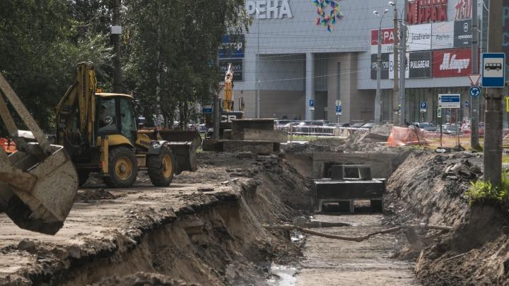 При гидравлических испытаниях в Архангельске нашли 61 дефект сетей