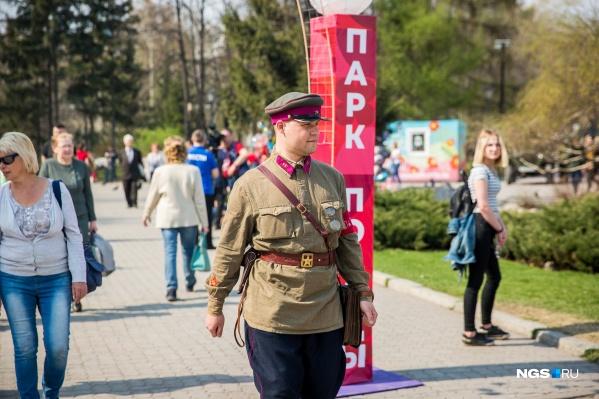 Пока непонятно, как в этом году пройдёт парад Победы в Новосибирске