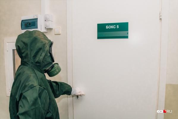 Пациентов с тяжелыми формами коронавируса лечат в стационарах