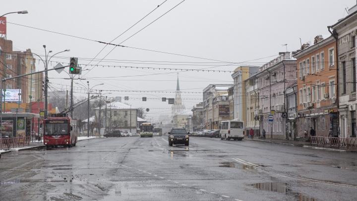 Пустой город: как Ярославль выглядит в первый день нерабочей недели