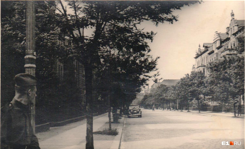 Улицы Берлина в первые дни после войны