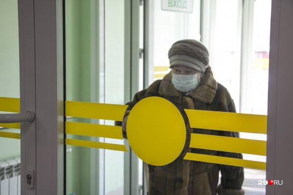 Больше всего заболевших выявлено в Архангельске