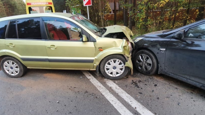 В тройном ДТП в Ярославле пострадал ребенок