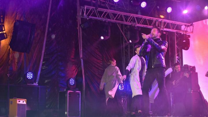 «Это было то еще испытание!»: певец Сергей Лазарев рассказал, как выступил в Новодвинске