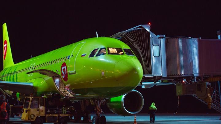 Самолет Тюмень — Новосибирск экстренно вернулся в аэропорт вылета