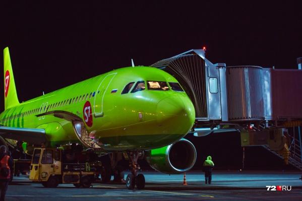 Рейс выполняла авиакомпания «Сибирь»